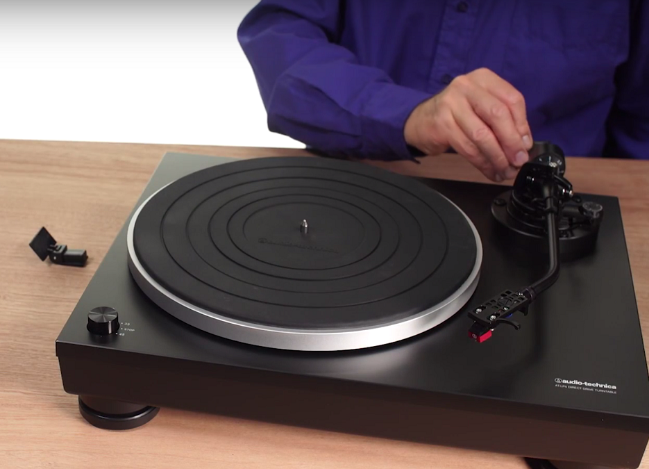 classic record player
